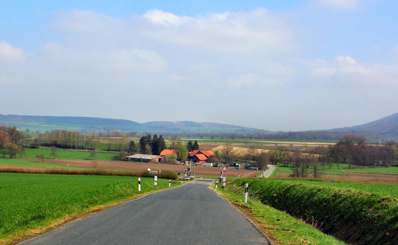 Frühlingsblick auf die Nordharz-Region