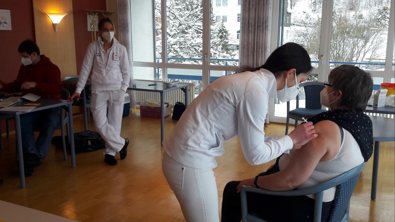 Impfstart in Bad Harzburg