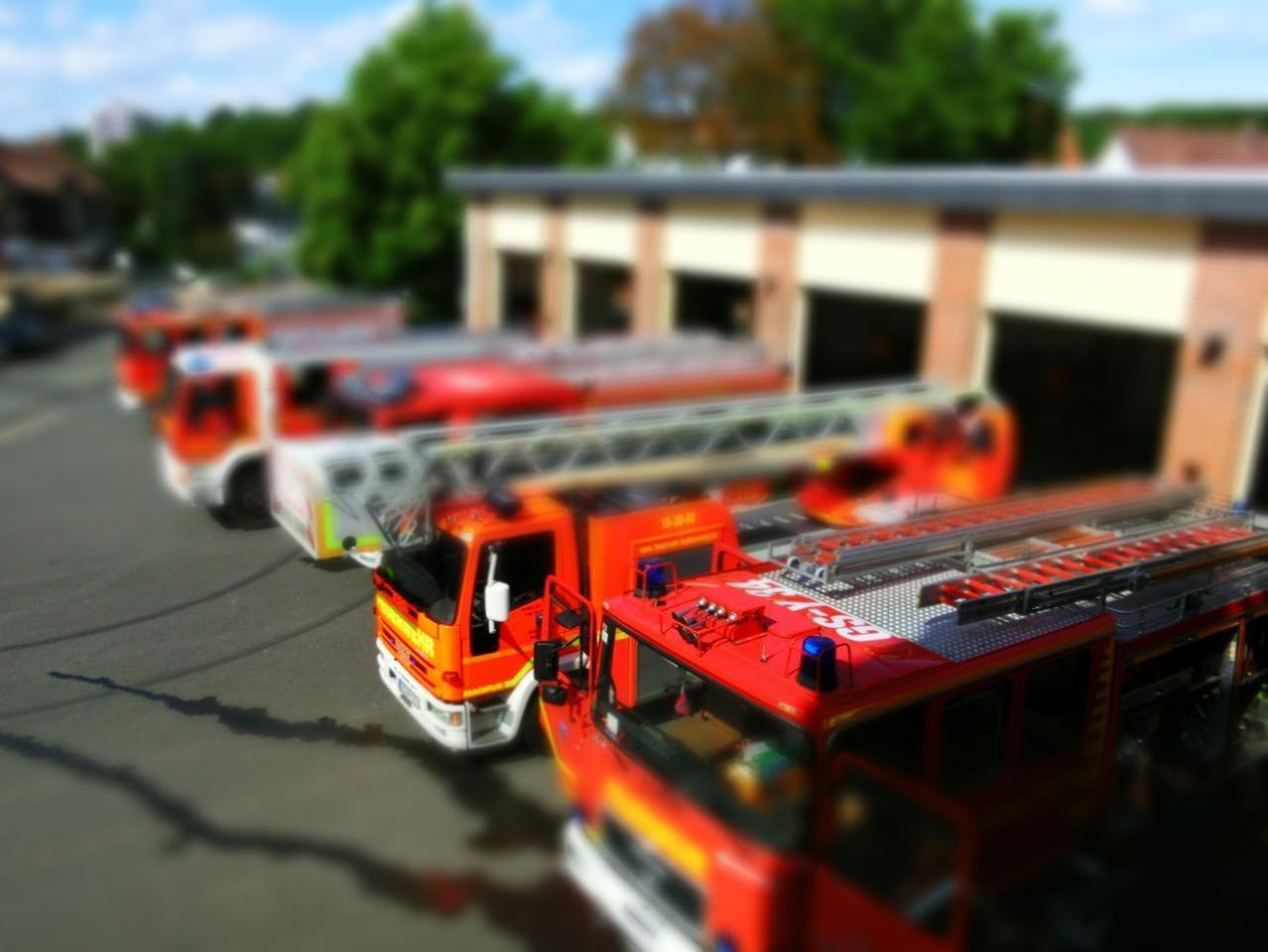 Brand auf Recyclinghof in Wernigerode