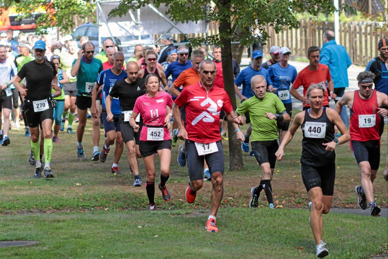 Rekordanmeldungen beim 10-Teiche-Marathon