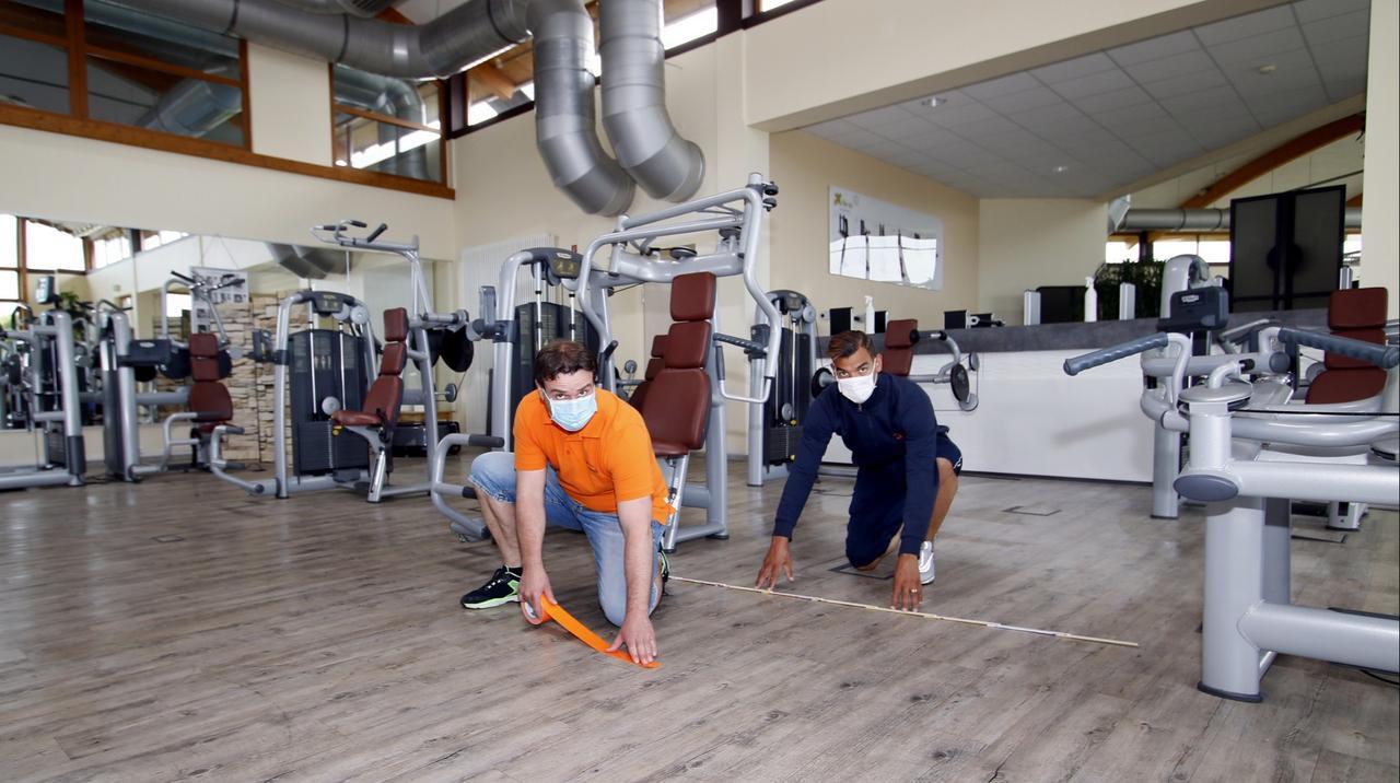 Fitnesscenter legen wieder los