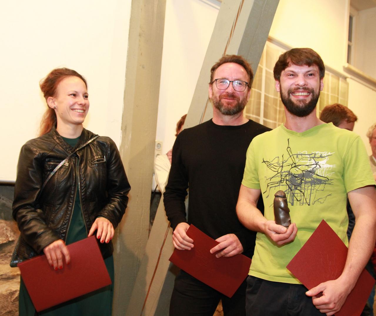 Andreas-Kunstpreis für Kalle J. Spielvogel