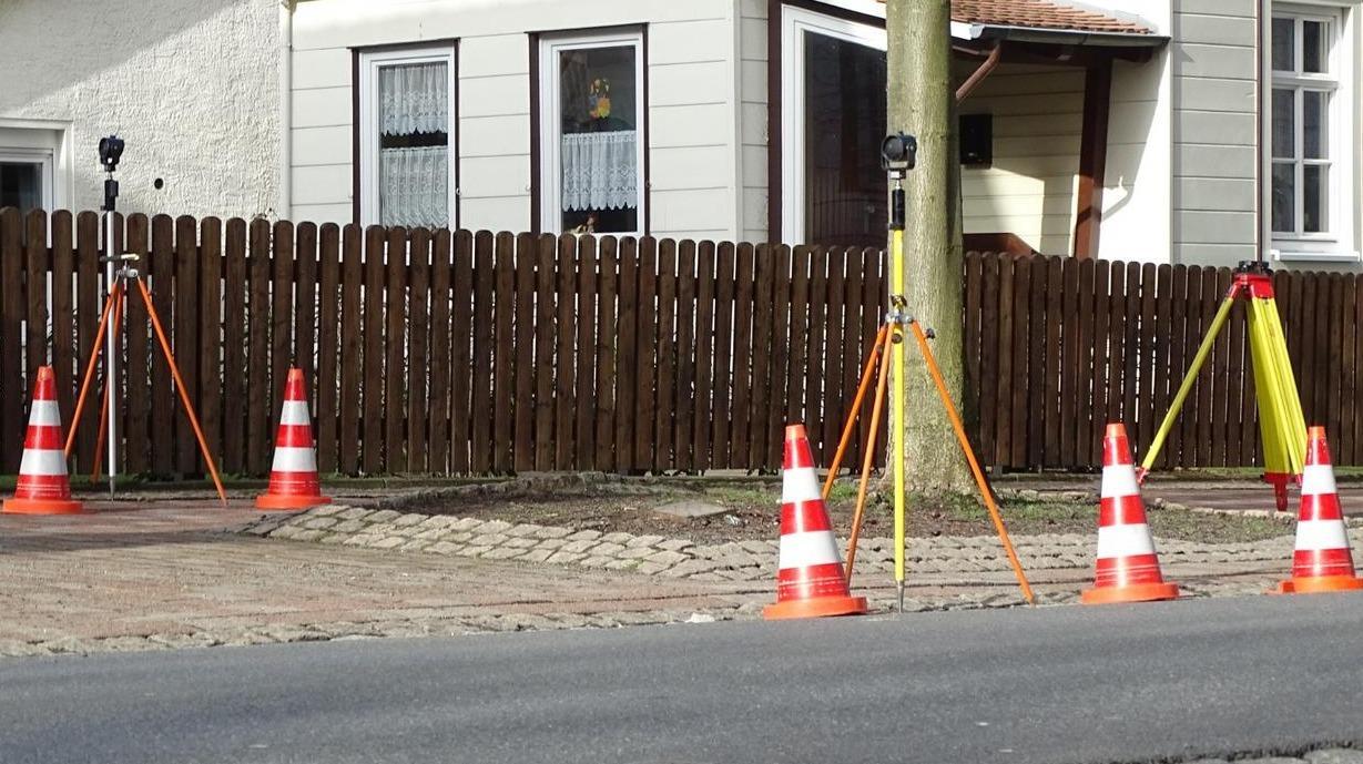 Messungen in der Harzburger Wilhelmstraße