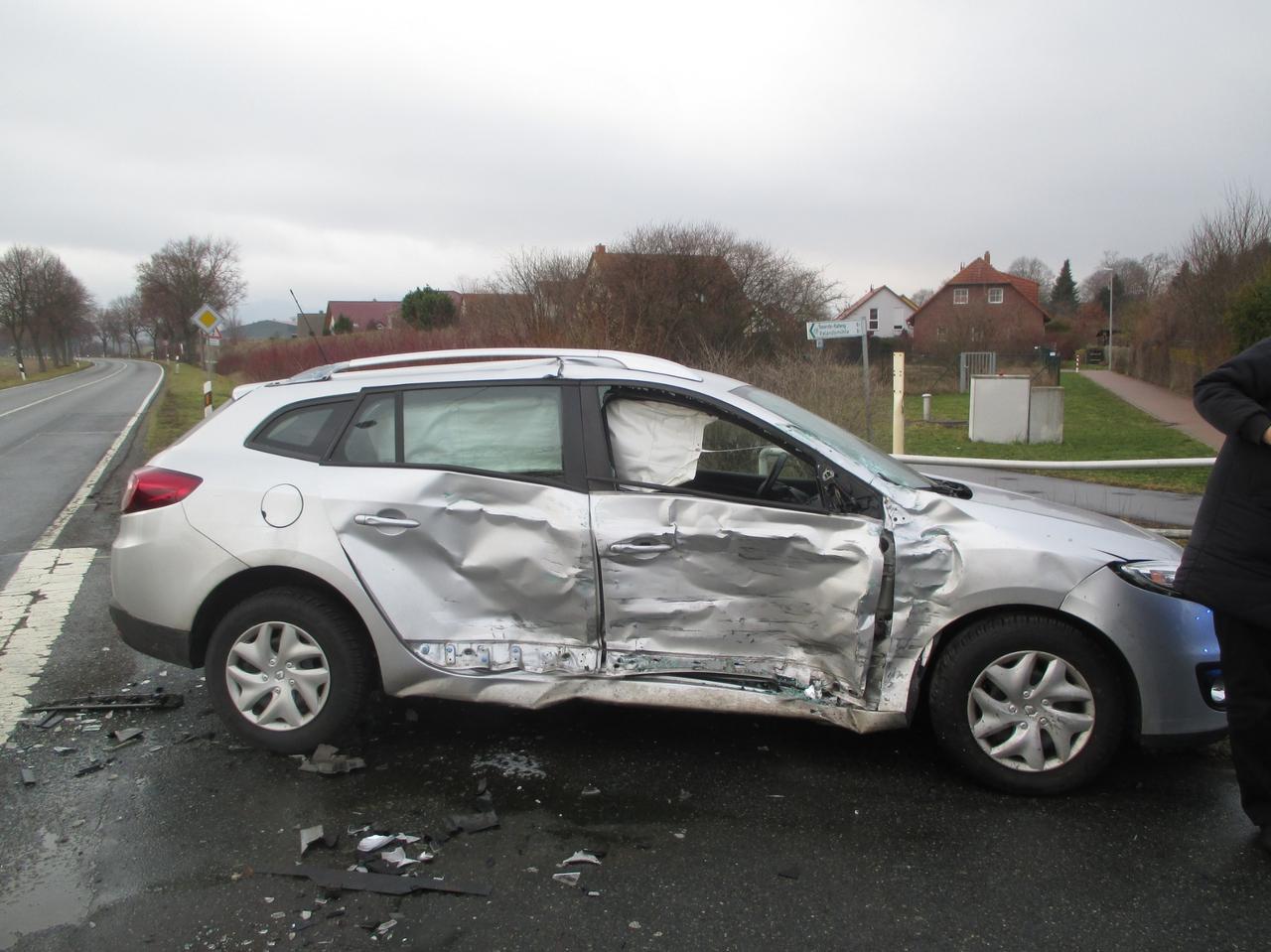 10.000 Euro Schaden nach Unfall
