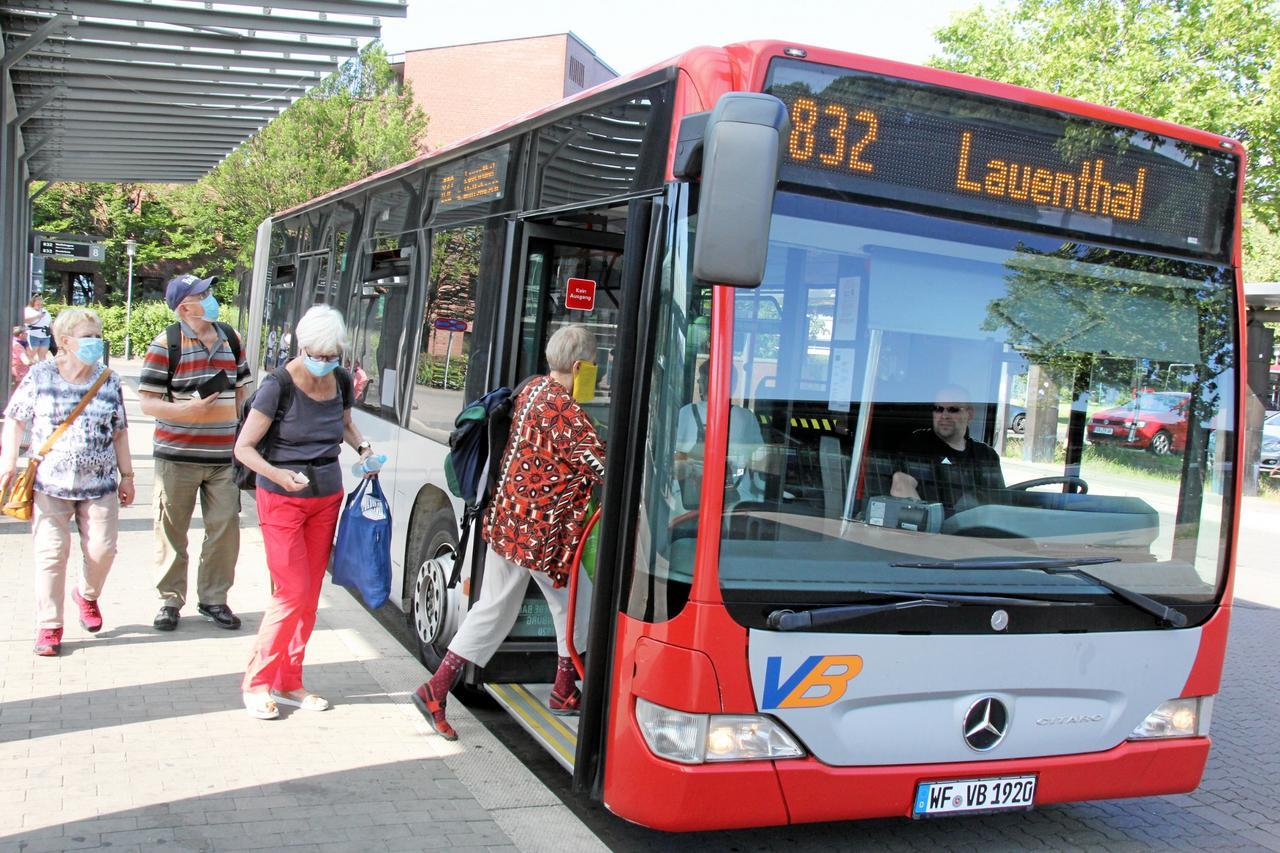 Viele Busse fahren künftig nur bei Bedarf