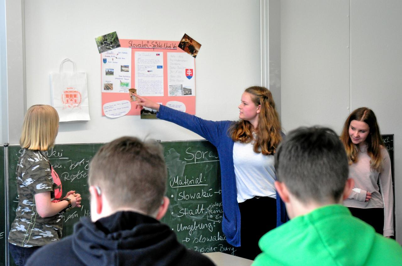 Schüler setzen sich mit Europa auseinander