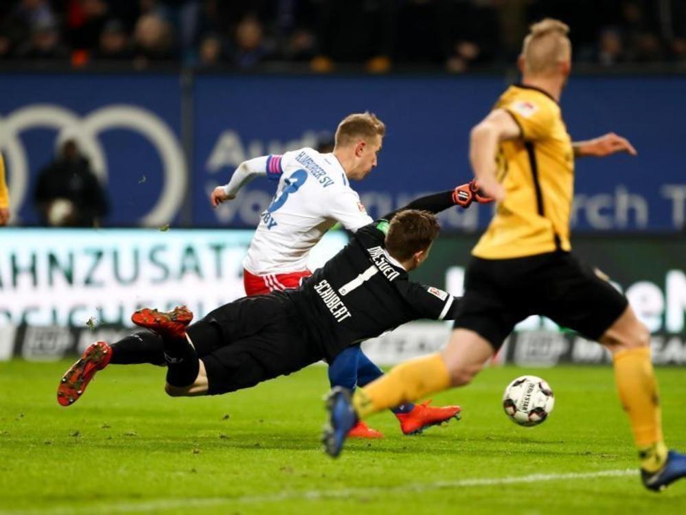 HSV festigt mit Arbeitssieg Platz 1