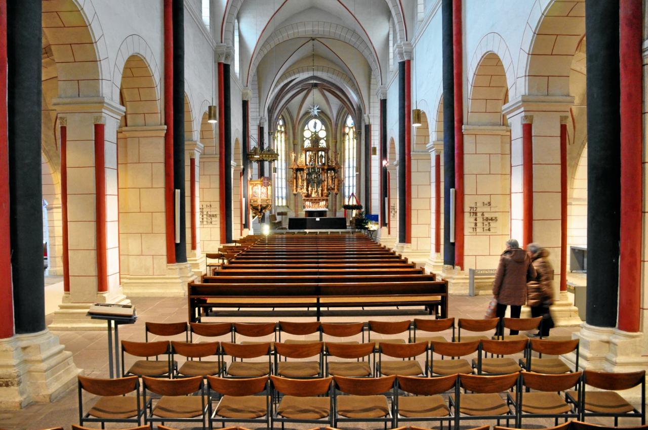 Studenten nehmen Marktkirche unter die Lupe