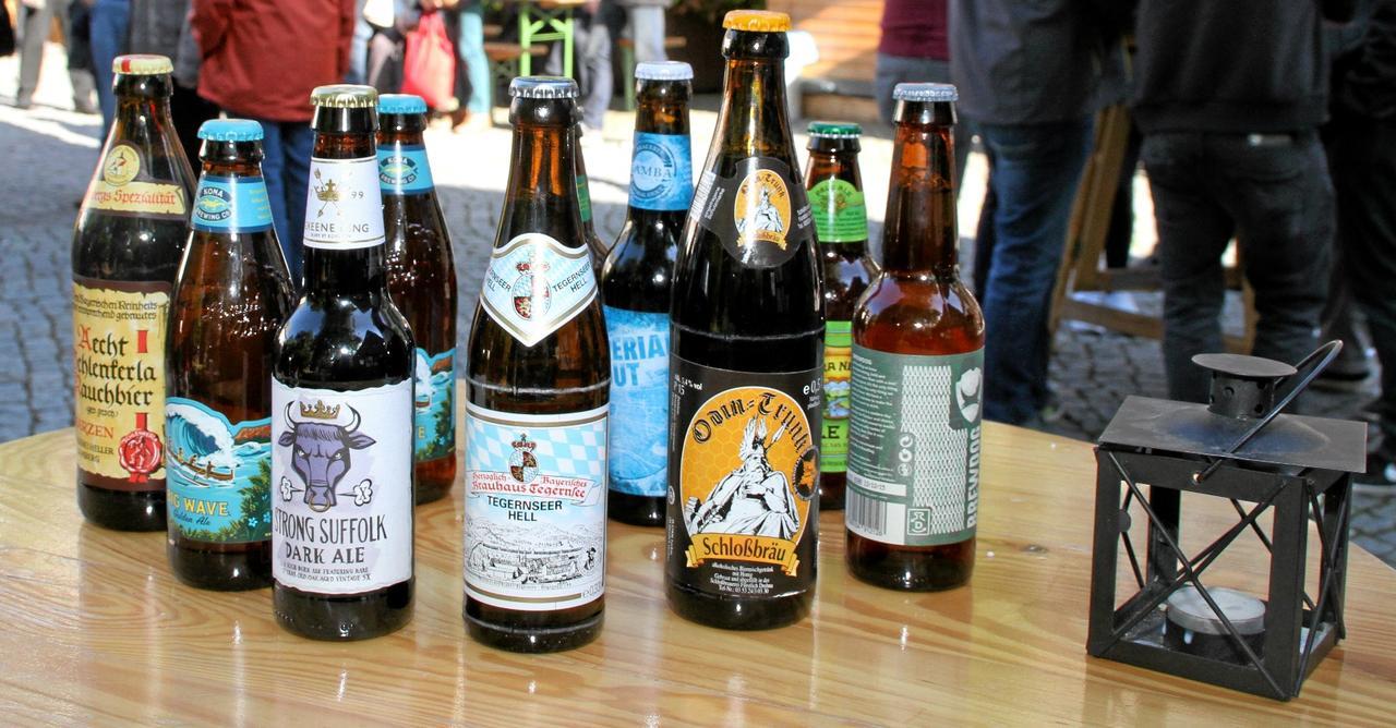 Feuchter Start ins Bierfest