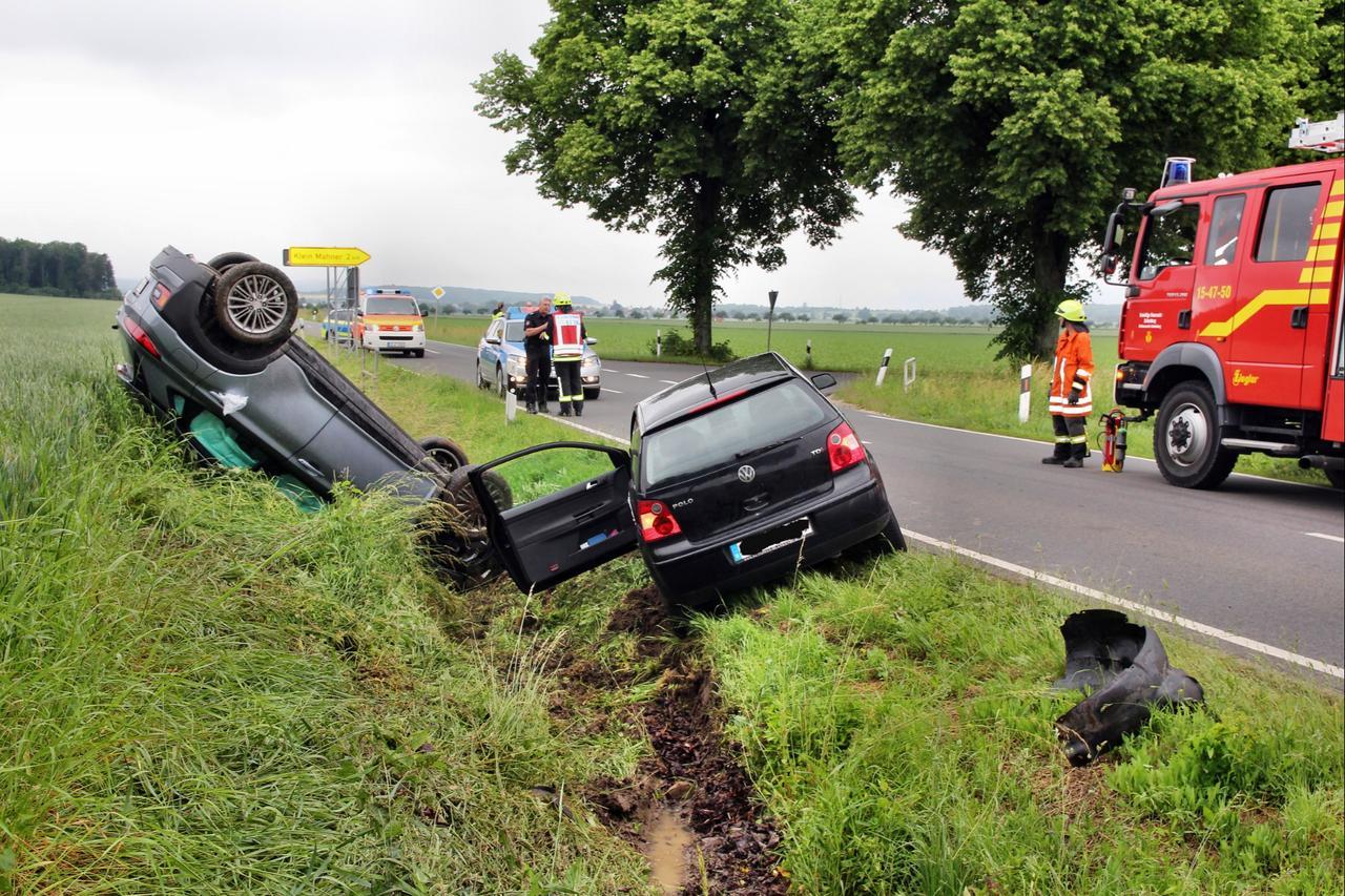 Verkehrsunfall fordert vier Verletzte
