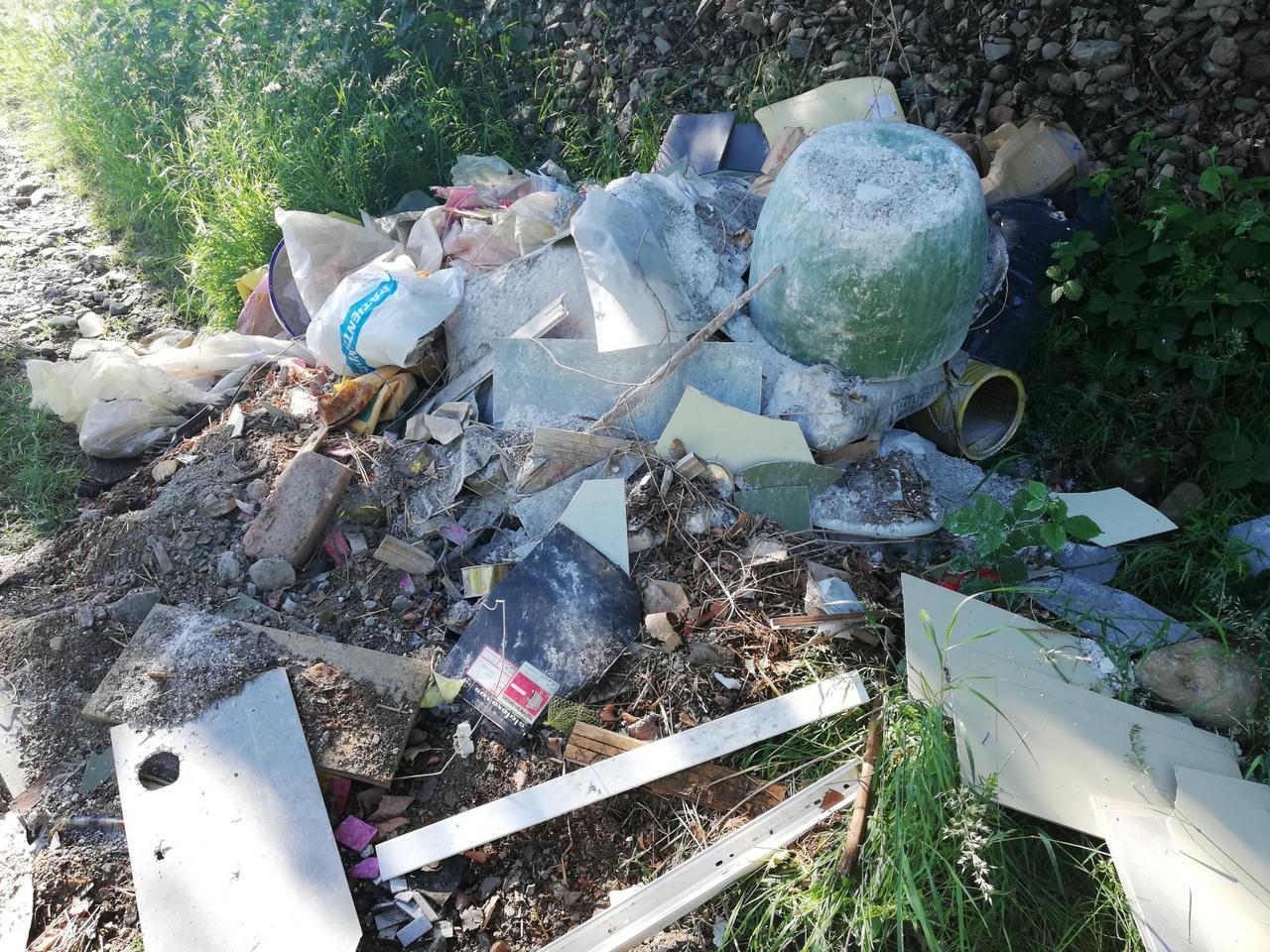 Illegale Müllablagerung bei Harlingerode