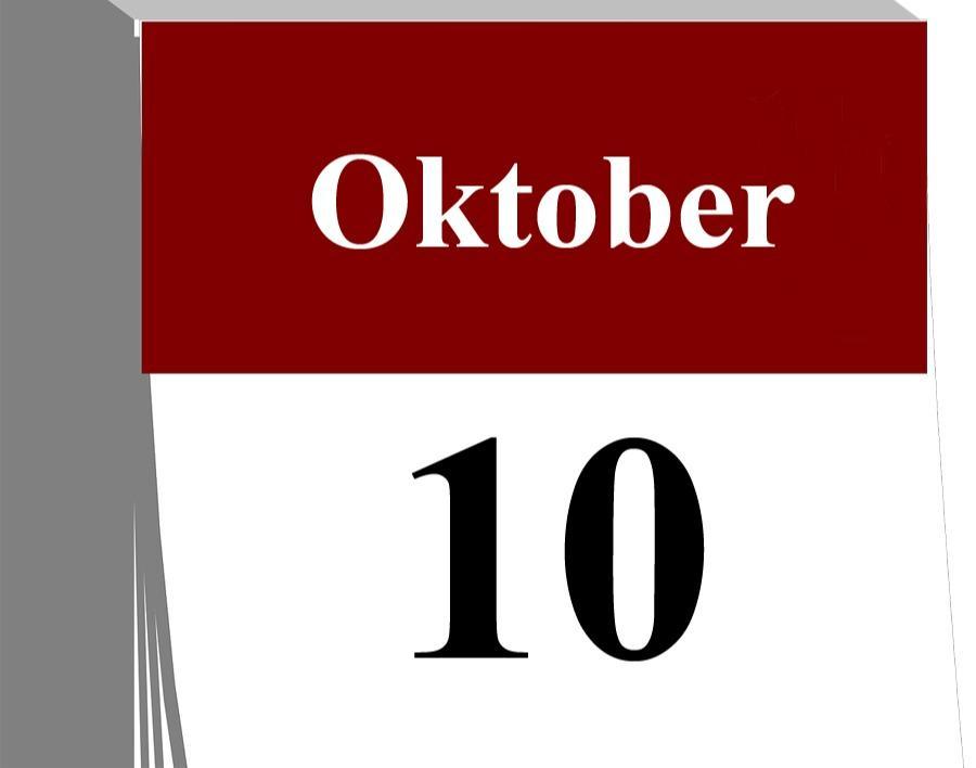 Der 10. Oktober