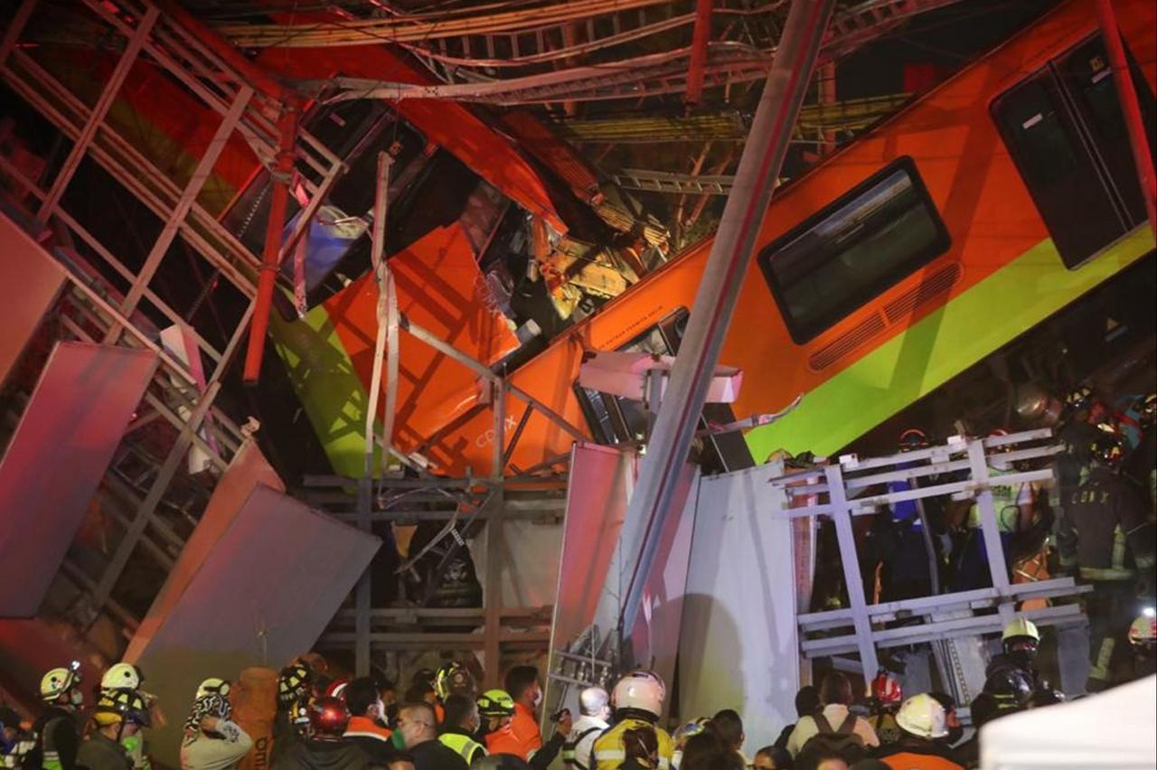 U-Bahn-Unglück in Mexiko-Stadt