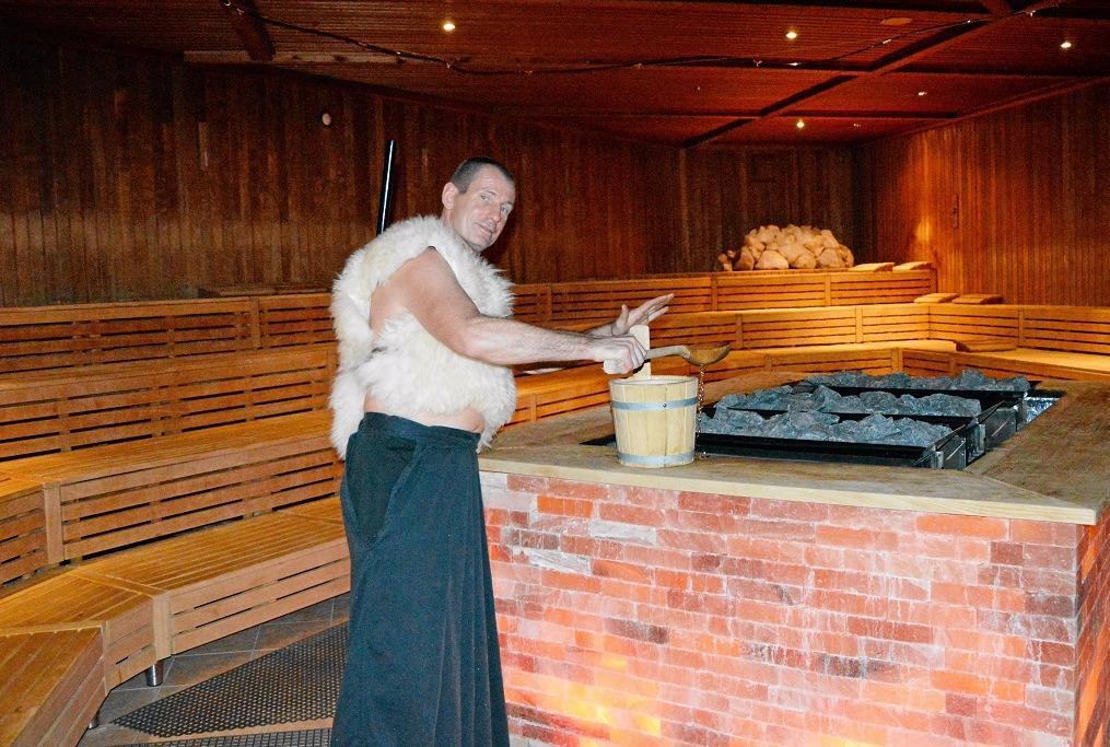 Sauna Weltmeister