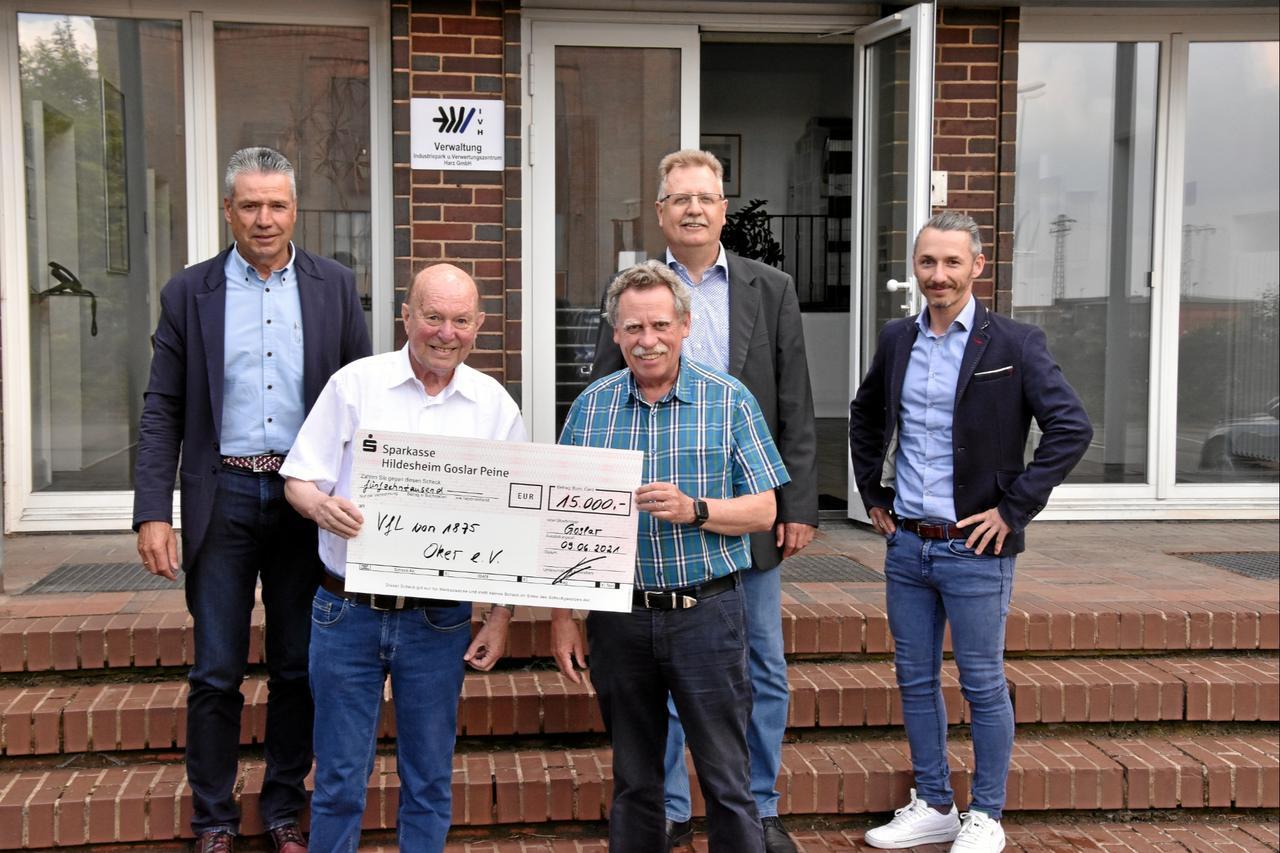 VfL Oker bekommt großzügige Geldspende