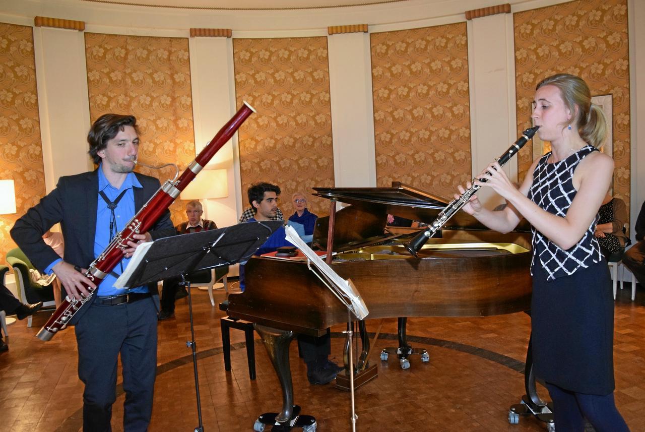 Glinka-Trio im Musiksaal