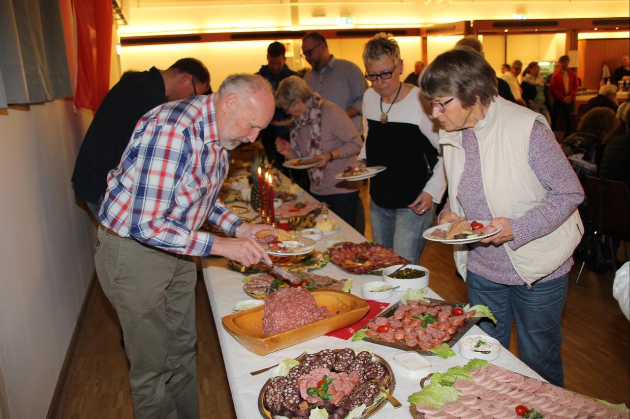 SPD Werlaburgdorf begrüßte 75 Gäste  im DGH