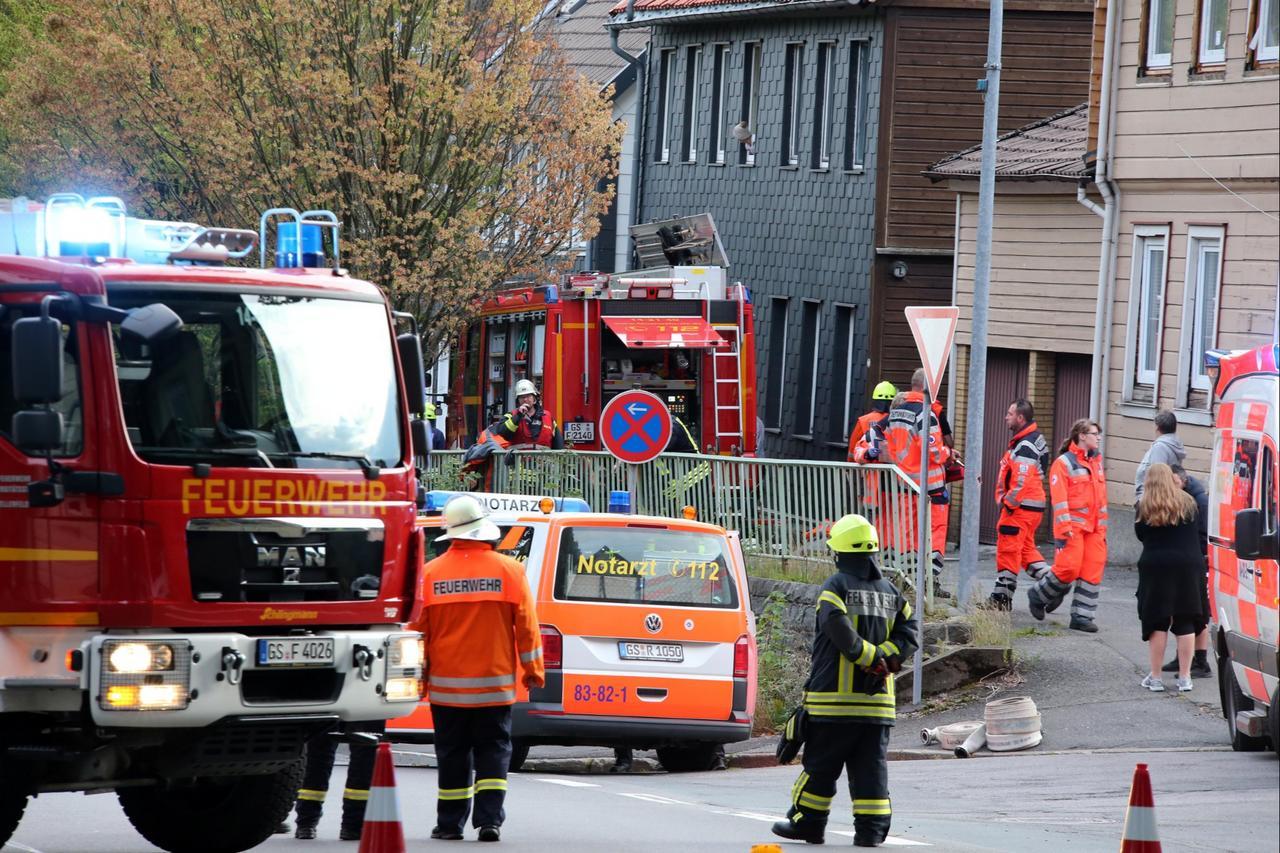 Feuerwehreinsatz in Zellerfeld