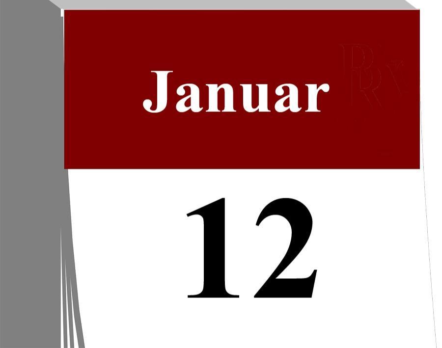Der 12. Januar...