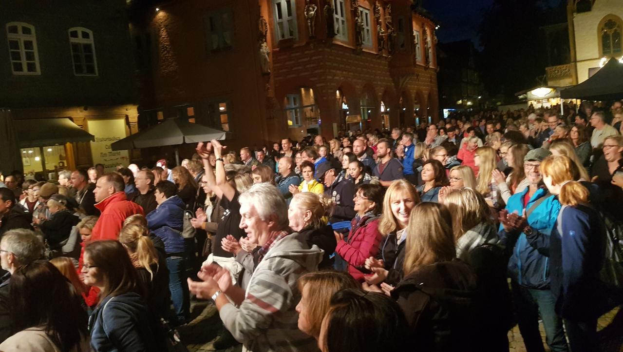Altstadtfest in Goslar gestartet