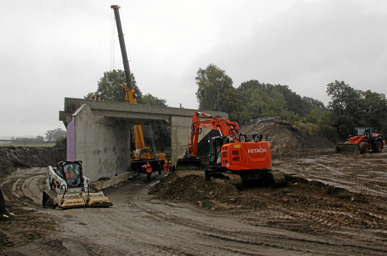Bahnbauarbeiten verzögern sich