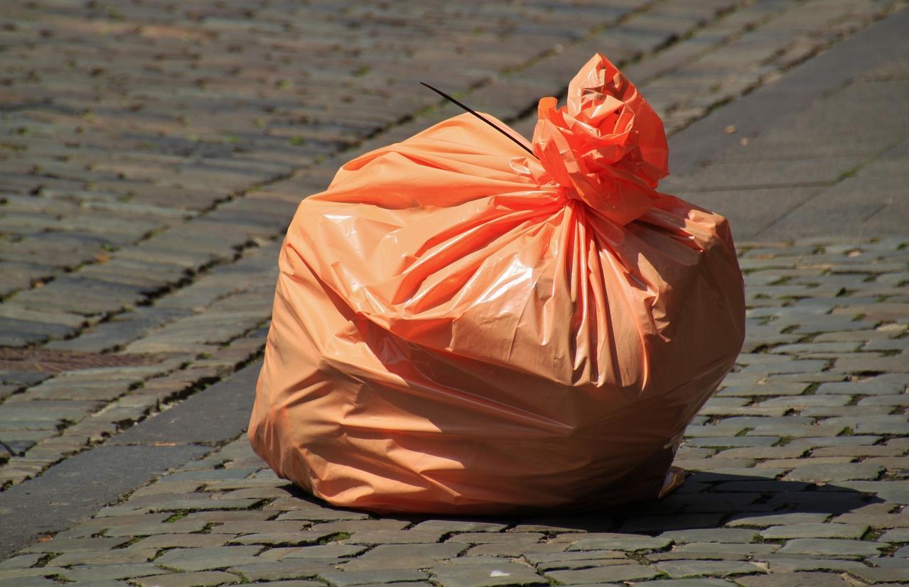 Müll sammeln mit der CDU