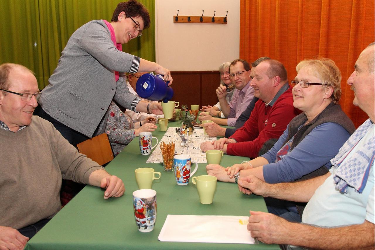 Ostharingen empfängt zum neuen Jahr