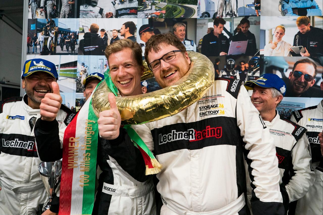 Motorsportler Hoffmeister jubelt in Ungarn