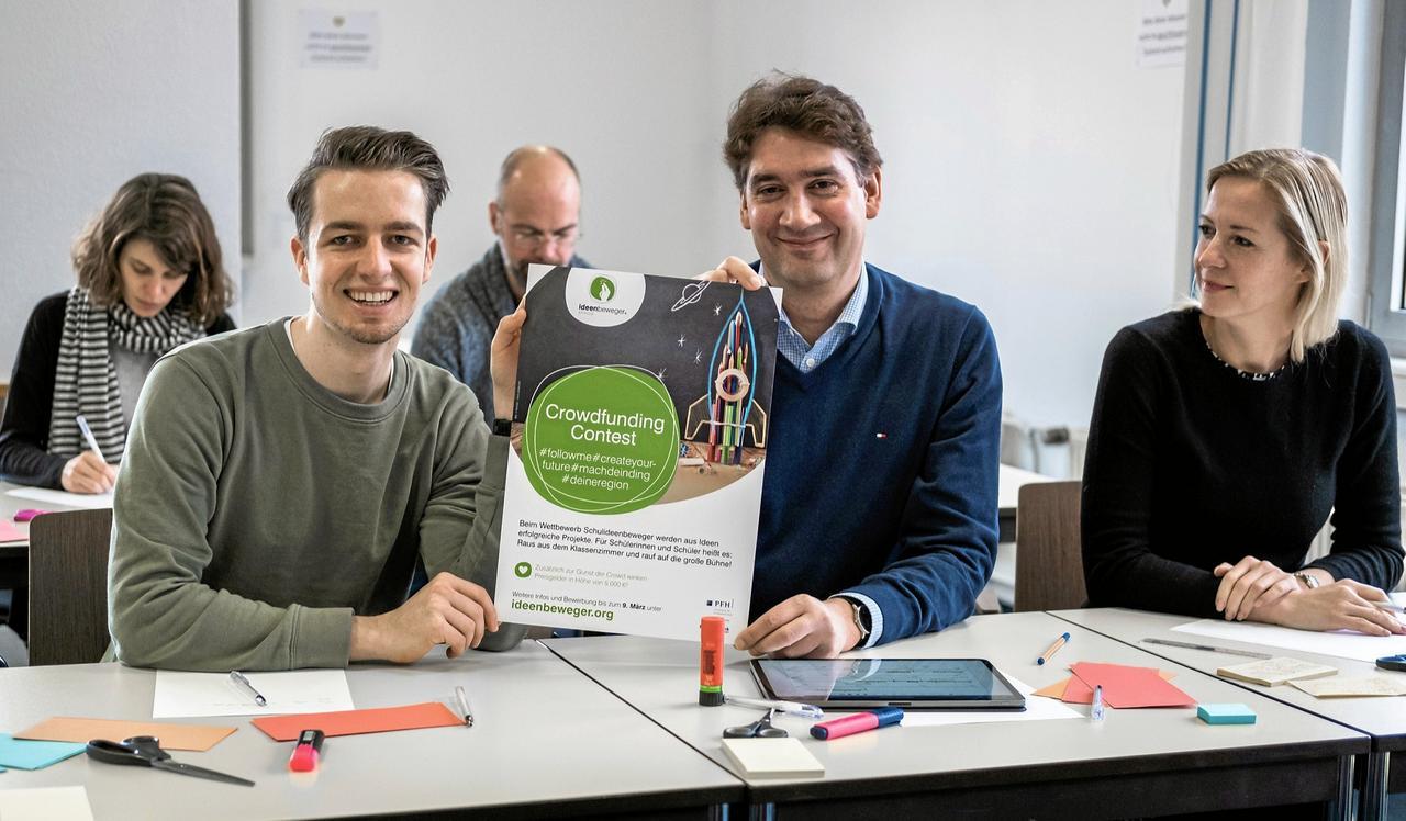 Hochschule hilft Schülern beim Crowdfunding