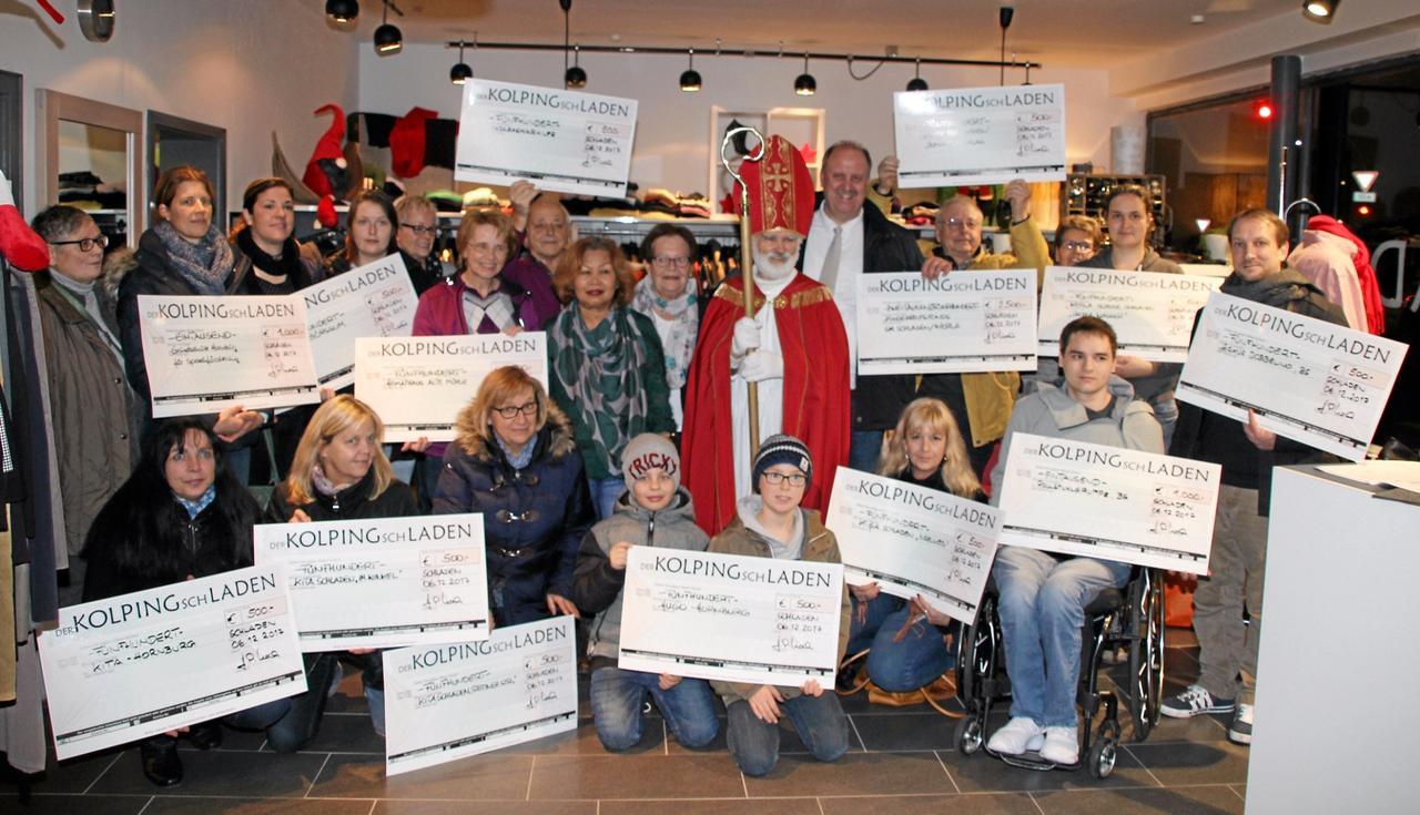 Kolping-Familie spendet 11.000 Euro