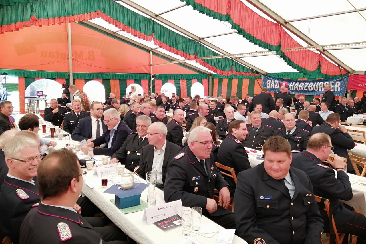 Viele Ehrengäste und zahlreiche Ehrungen