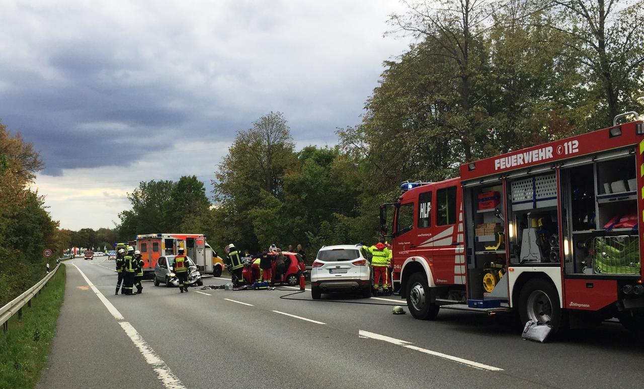 Tragischer Unfall fordert Schwerverletzte