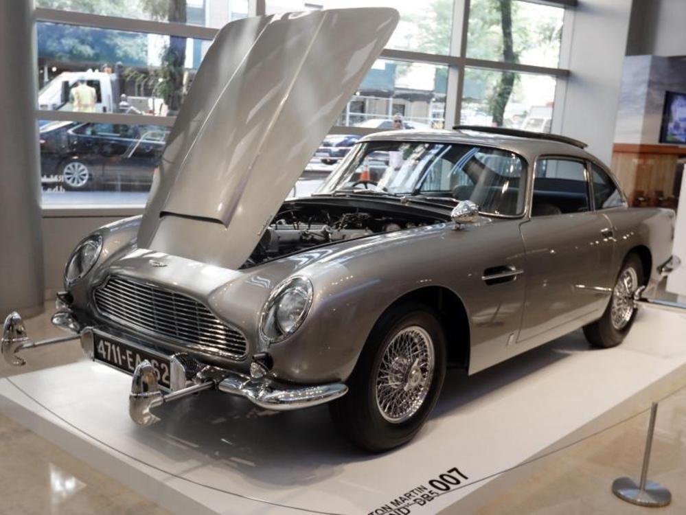 6 Millionen Dollar für Bonds Aston Martin