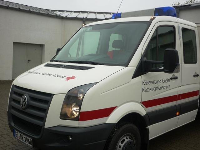 Übung des Deutschen Roten Kreuzes