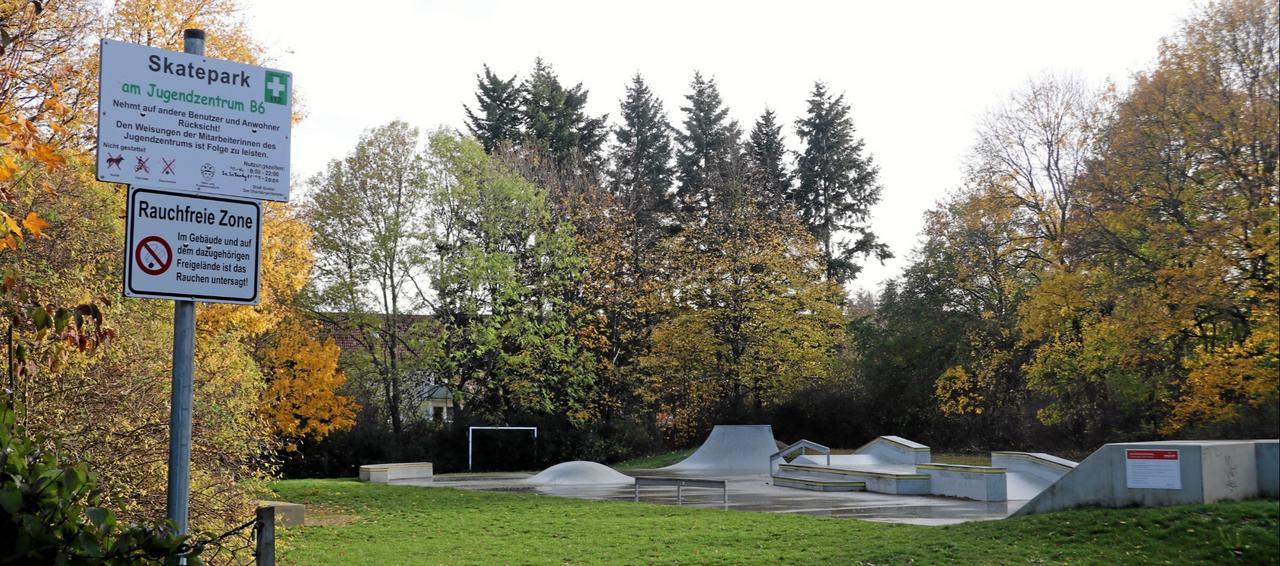 Neue Umfeld-Angebote für Skatepark