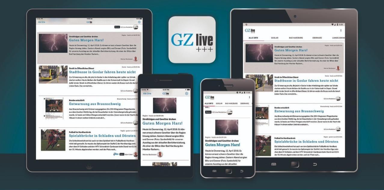 GZ live-App: Gratis Download