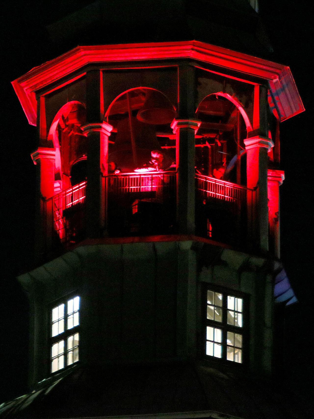 Nordturm erstrahlt in neuen Farben