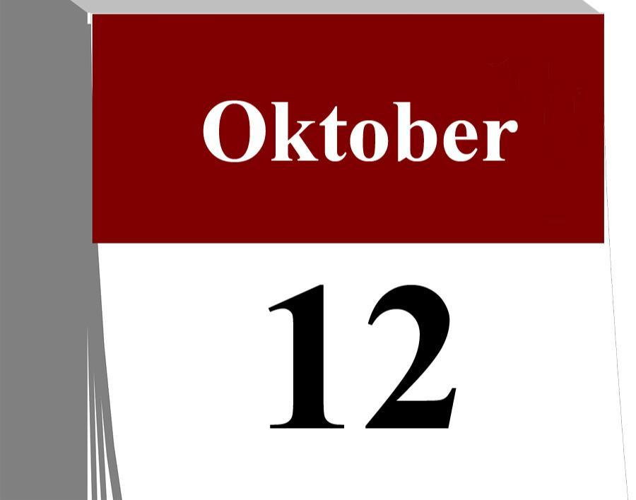 Der 12. Oktober