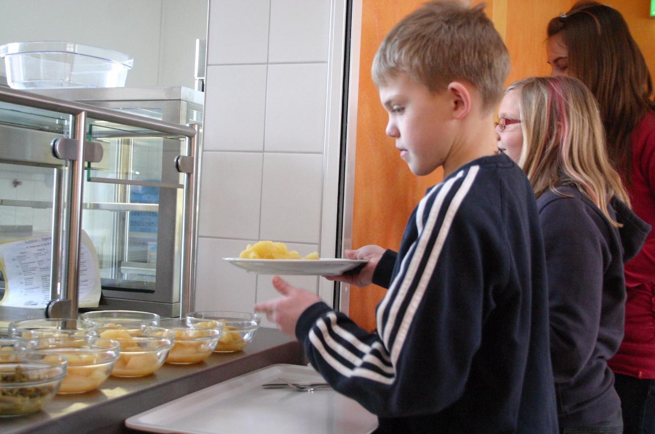 Kalte Küche in der Schule