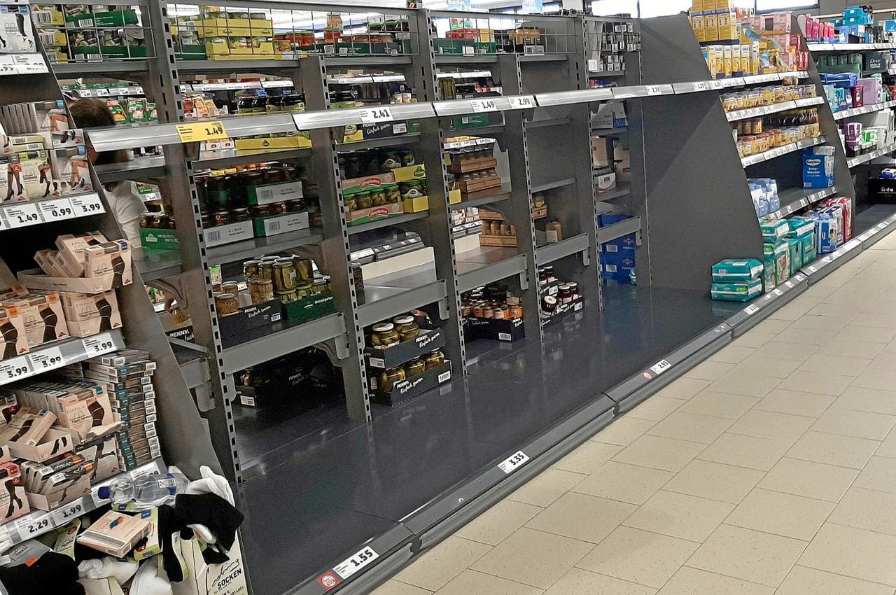 Welche Märkte begrenzen Klopapier-Einkauf?