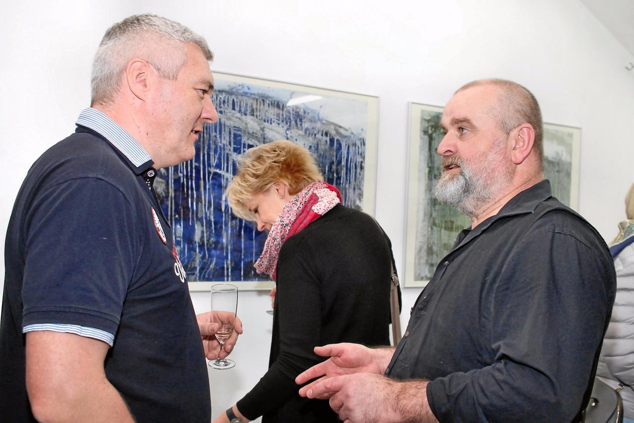 Lothar Schwarz zeigt seine Werke