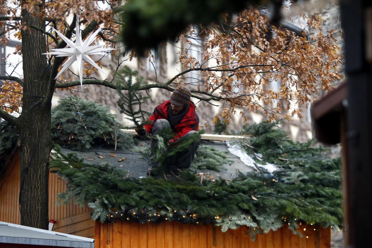 Start Weihnachtsmarkt.Weihnachtsmarkt Kurz Vor Dem Start Goslar Gz Live