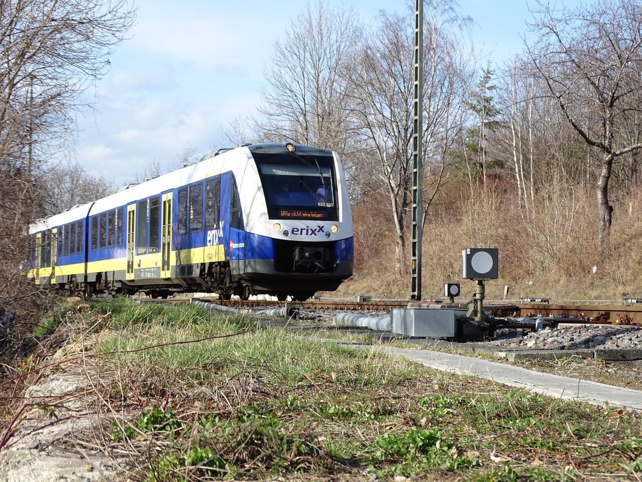 Quietsch-Weiche Bündheim: Sind Züge schuld?