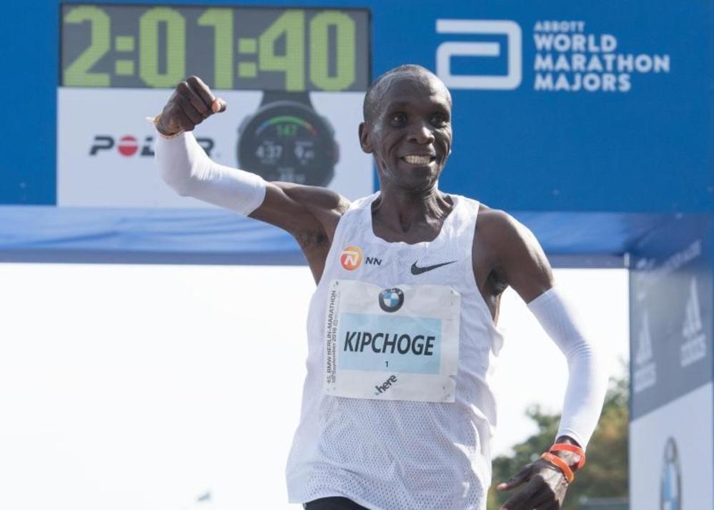 Fabelweltrekord beim Berlin-Marathon