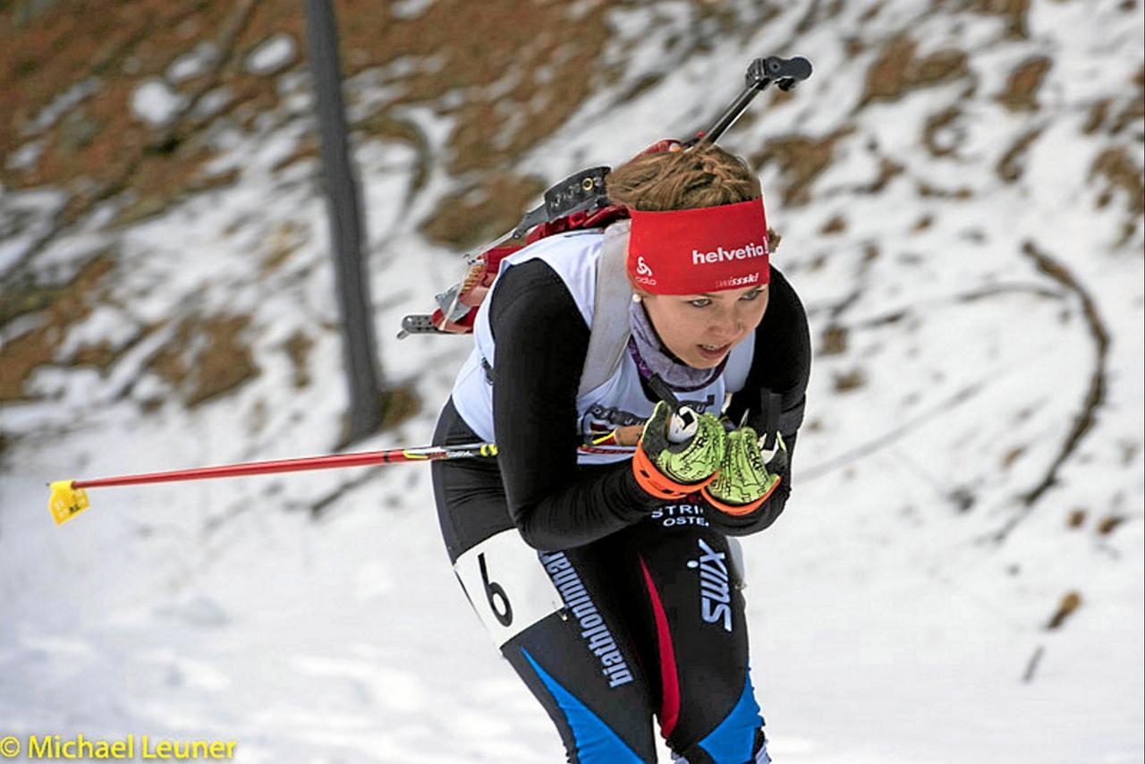 Maja Suttkus läuft zum Doppelsieg