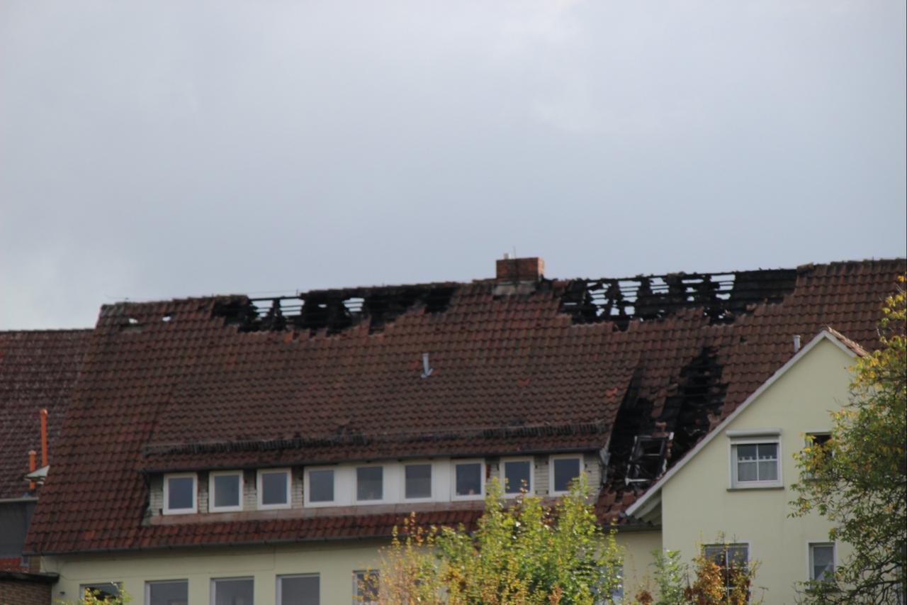 Brand-Betroffene suchen neue Bleibe