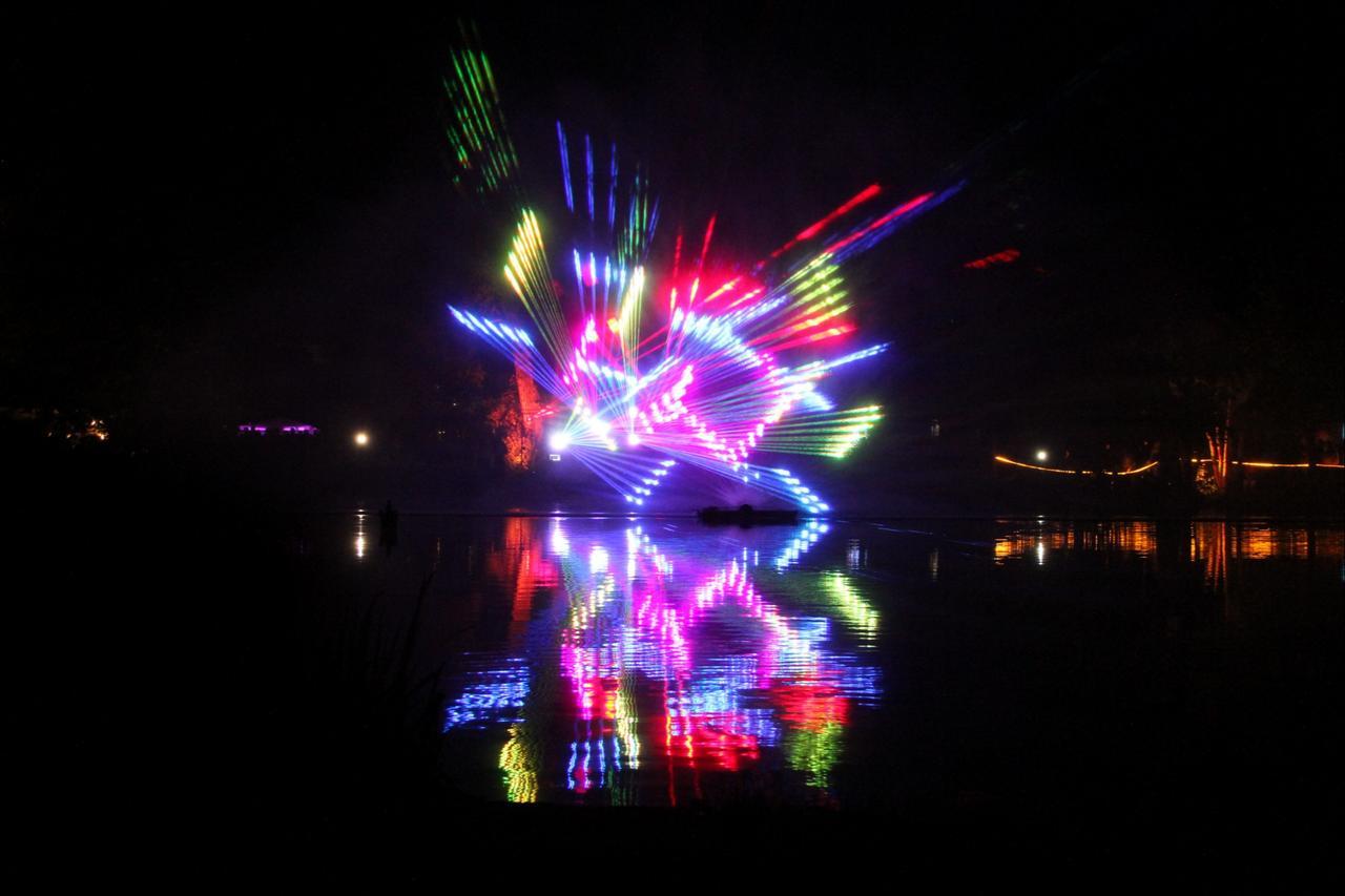 Faszinierende Lasershow
