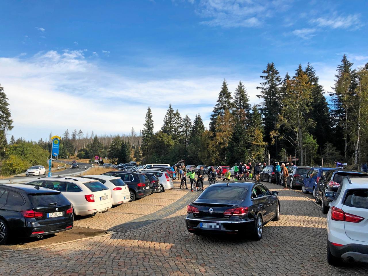 Kein Parkplatz mehr frei