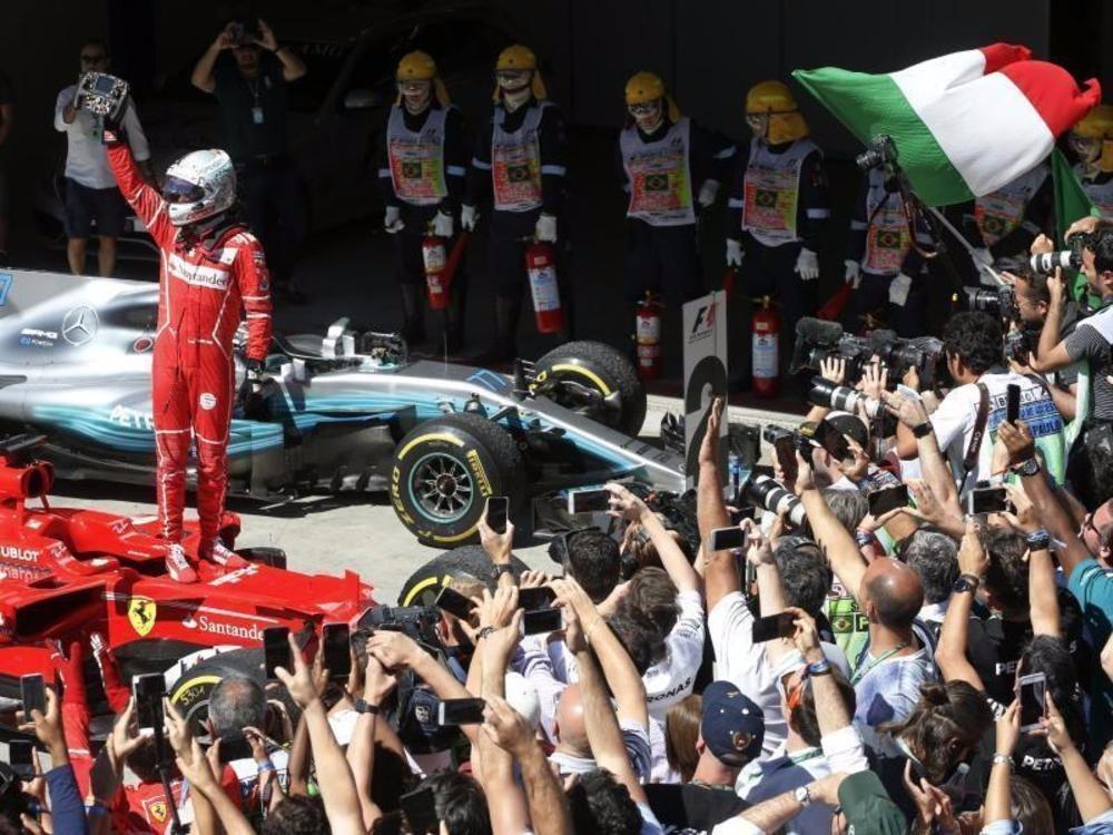 Vettels Sieg, Hamiltons Show
