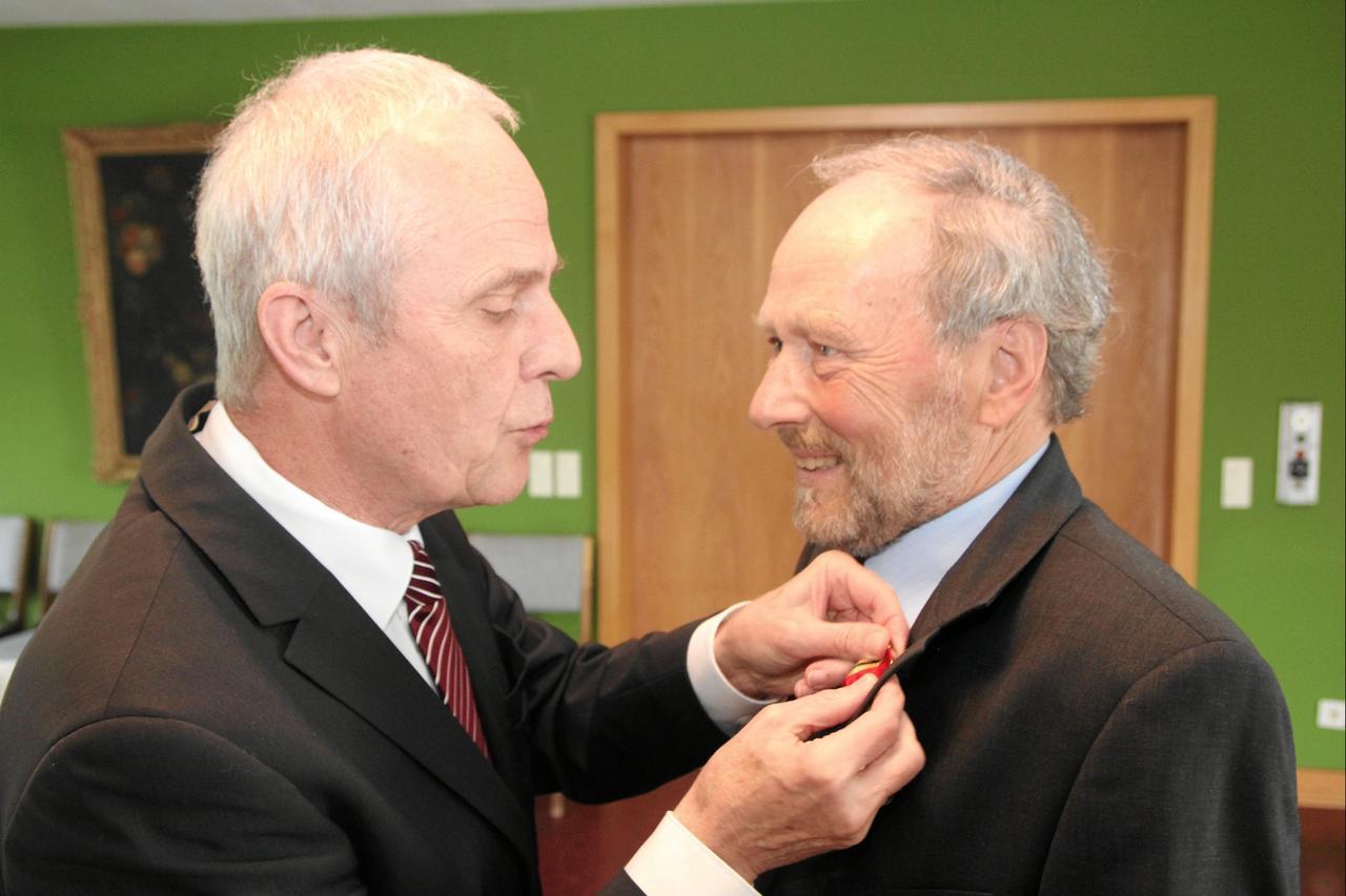 Bundesverdienstkreuz für Manfred Gille